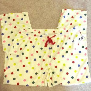 Old navy polka dot sleep pants